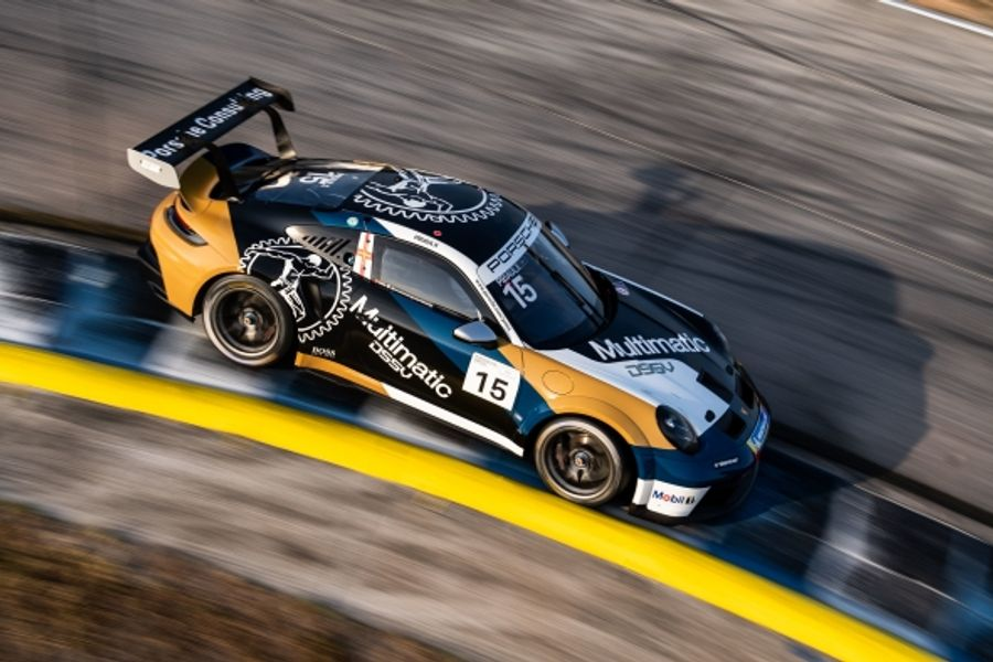 Sebastian Priaulx gets Porsche Carrera Cup season underway with Sebring win