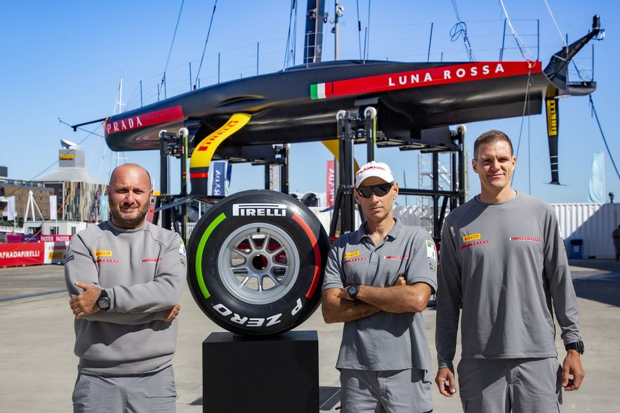 Prada Cup winners Luna Rossa sign Pirelli F1 tyre for charity