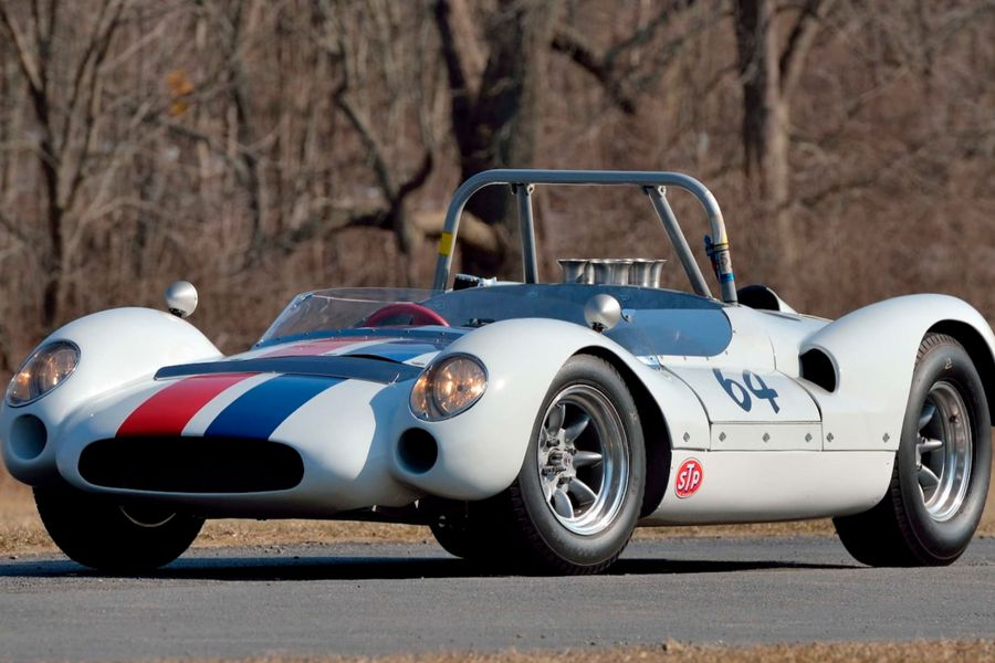 1 of Only 6 Cooper Monaco Type 61 Sport Racers Built in 1964