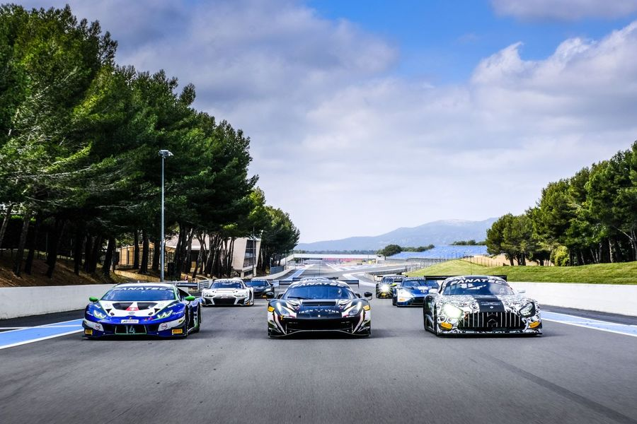GT World Challenge Europe completes successful Paul Ricard test