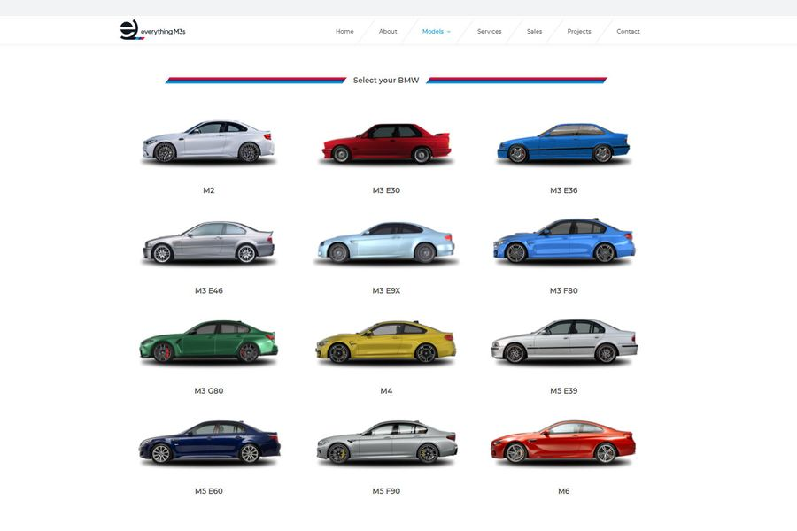 EverythingM3s - BMW M Sport specialist - new web site by Racecar
