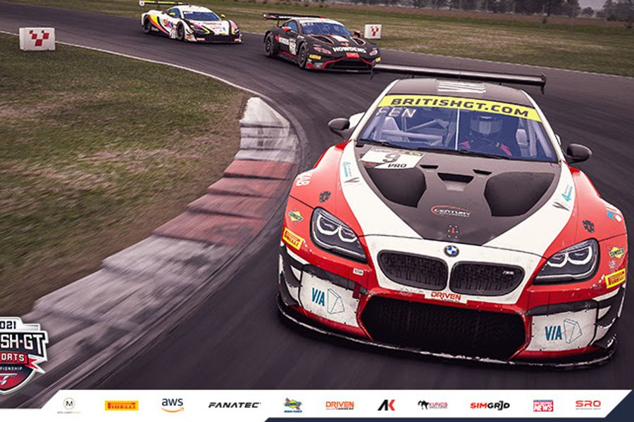 Esports GT campaign reaches halfway mark at Brands Hatch today