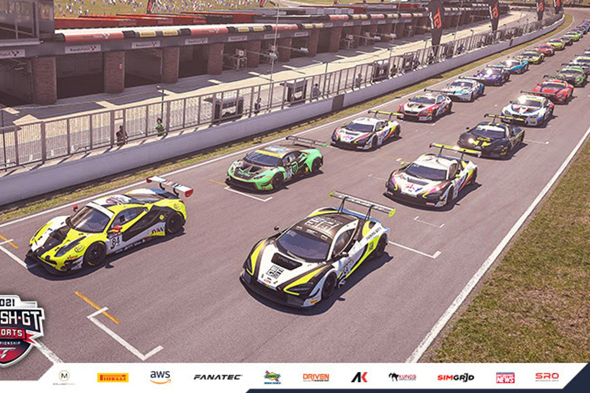 Esports British GT Titles on the line at Silverstone's penultimate round