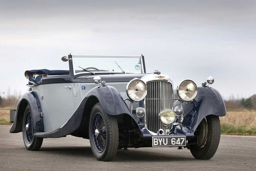 Two rare British coachbuilts at H&H Classics Duxford auction