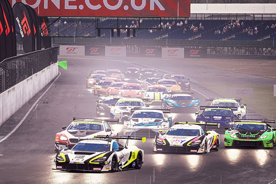 Baldwin wraps up GT3 Esports title at Silverstone