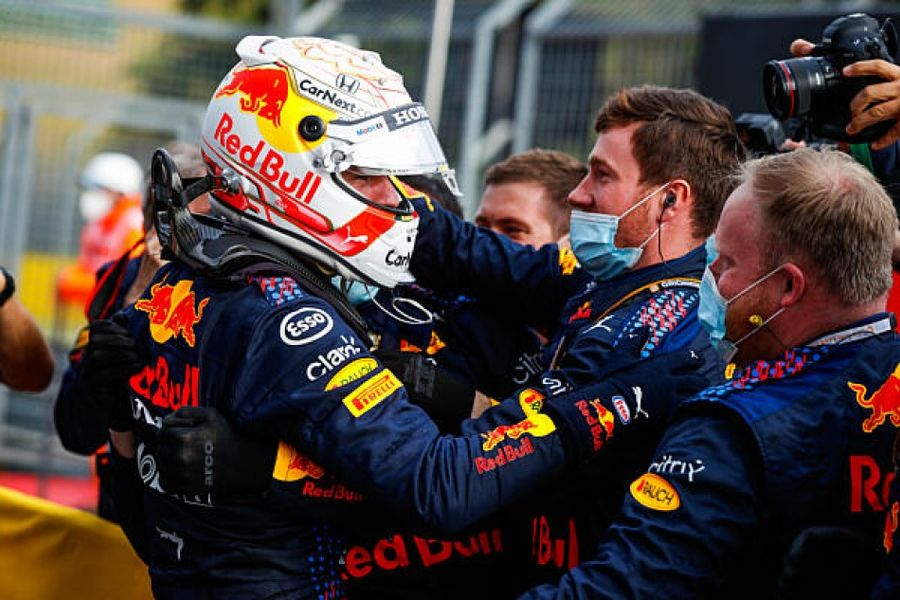 Max Verstappen wins incident packed Imola Grand Prix
