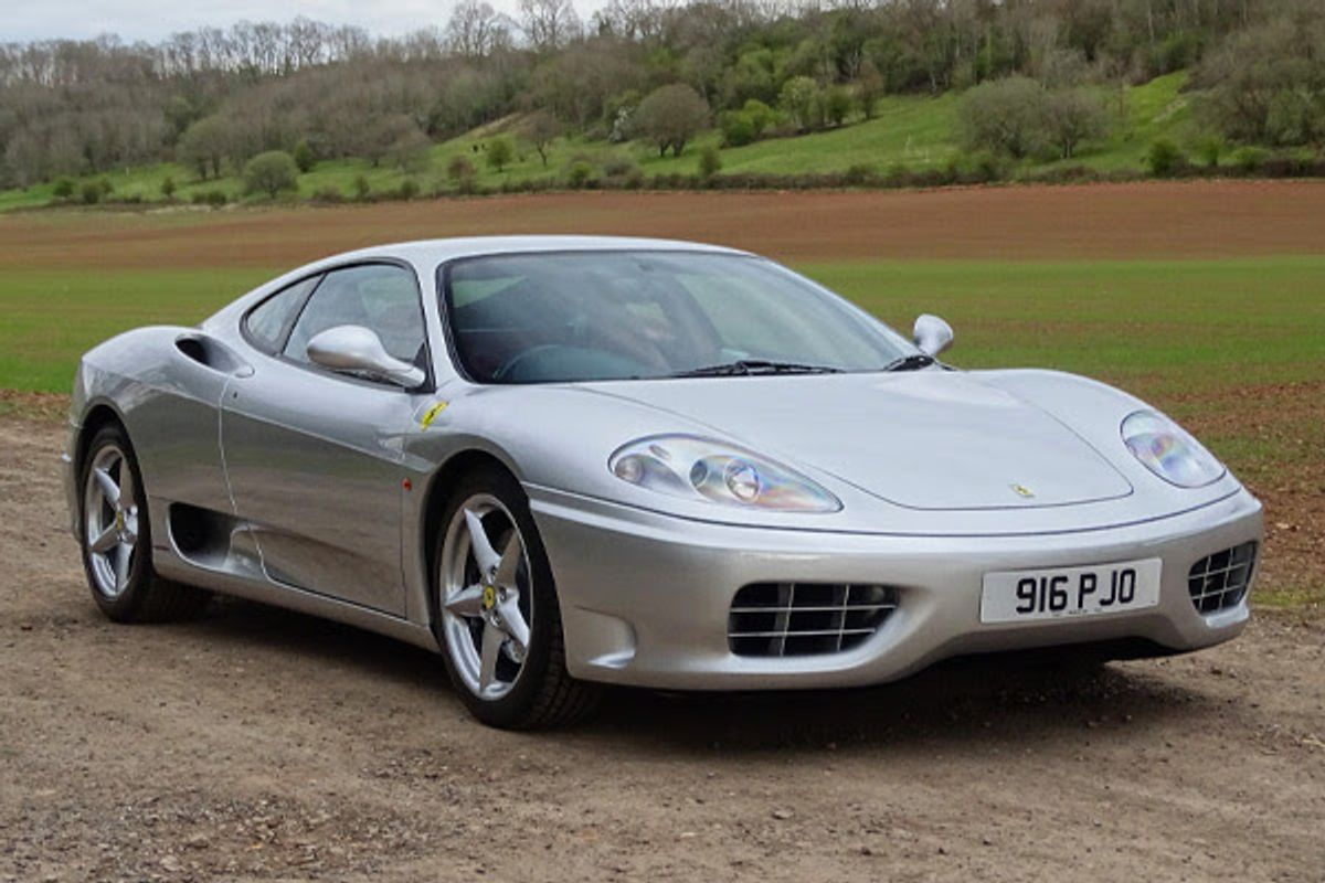 Martin Brundle owned 2000 Ferrari 360 Modena at H&H Classics auction