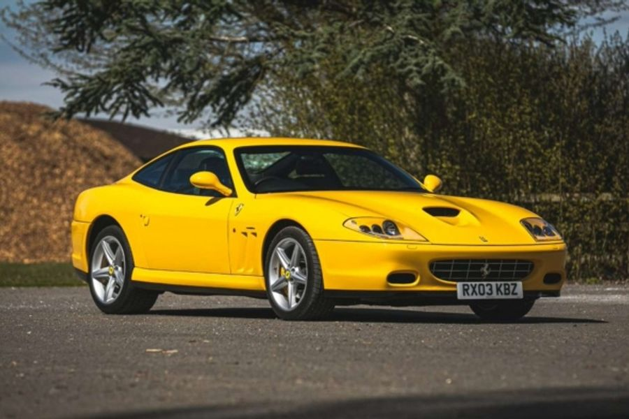 Ferrari 575M Maranello F1 first owned by Eric Clapton at Silverstone Auctions