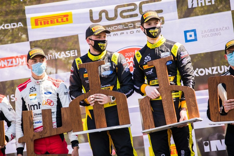 Jon Armstrong & Phil Hall take maiden Junior WRC win on Croatia Rally