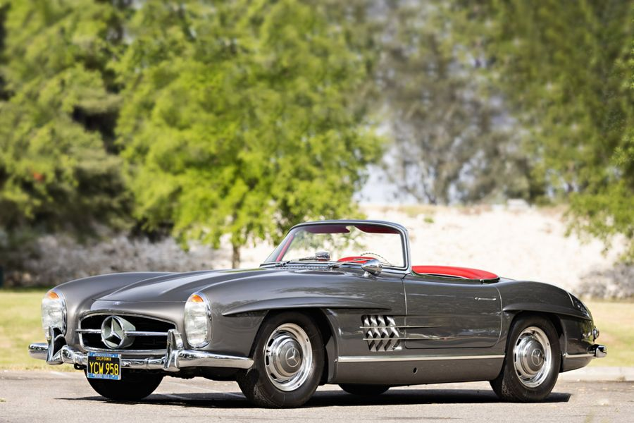 Mercedes-Benz 300 SL Roadster at Gooding's Geared Online Auction