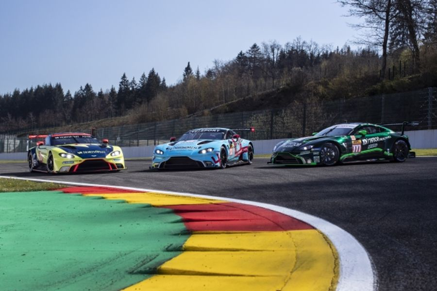 Three Aston Martin Racing partner teams vie for glory in WEC GTE Am
