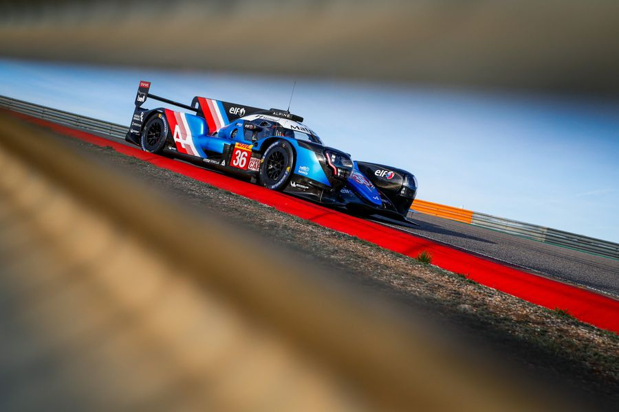 Alpine Elf Matmut Endurance debuts in the Hypercar category at Spa