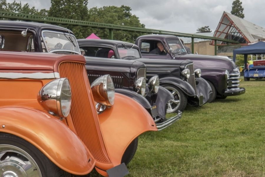 Retro motoring excitement at Beaulieu's Hot Rod & Custom Show