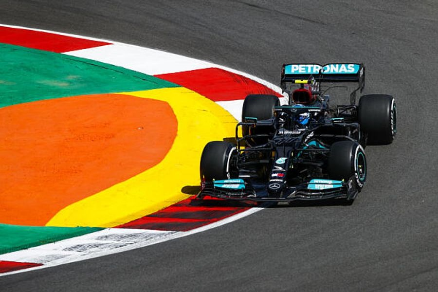 Valtteri Bottas leads opening practice for the Portugues Grand Prix