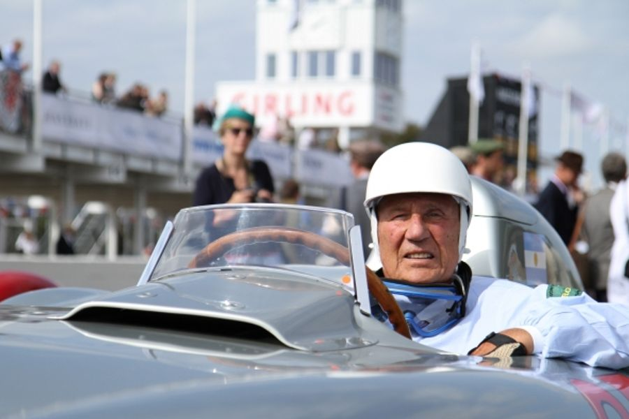 Goodwood to celebrate the life and career of Sir Stirling Moss