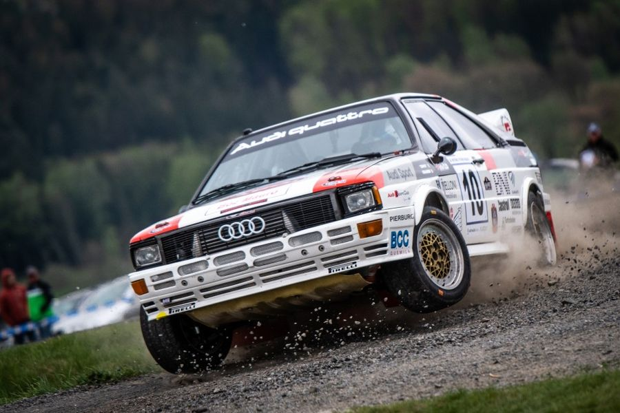 24 car entry for Historic Vltava Rallye