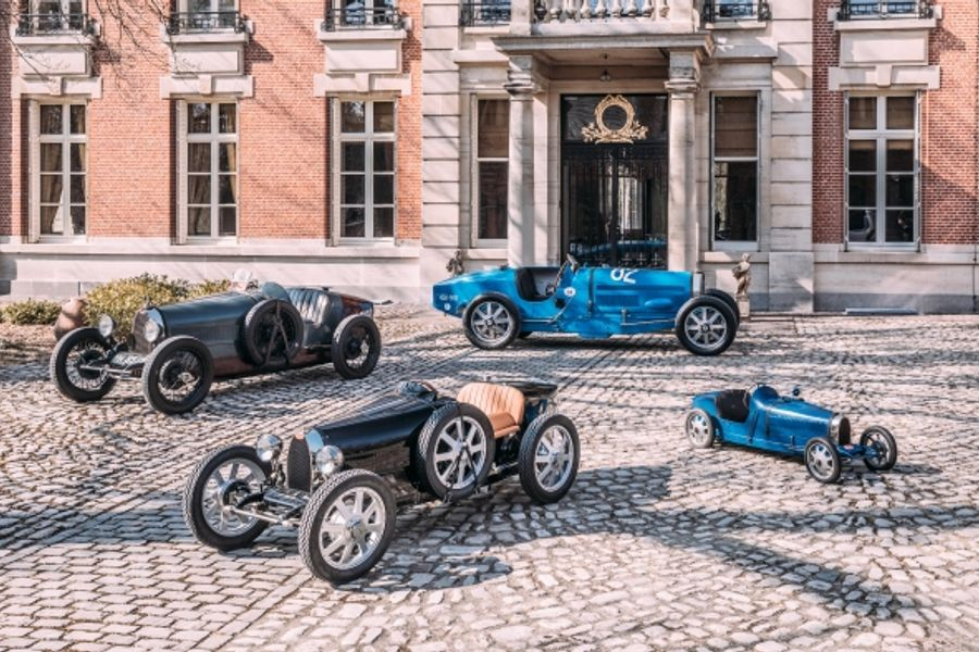 Bespoke Bugatti Baby II vehicles delivered across the globe