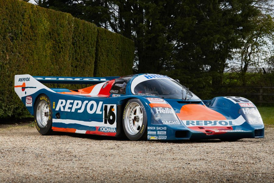 Porsche 962C heads to Gooding's Geared Online June auction